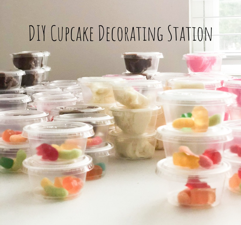 How to: Cupcake Decorating Station